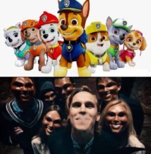 Creative Comparison: The Purge Franchise & Paw Patrol